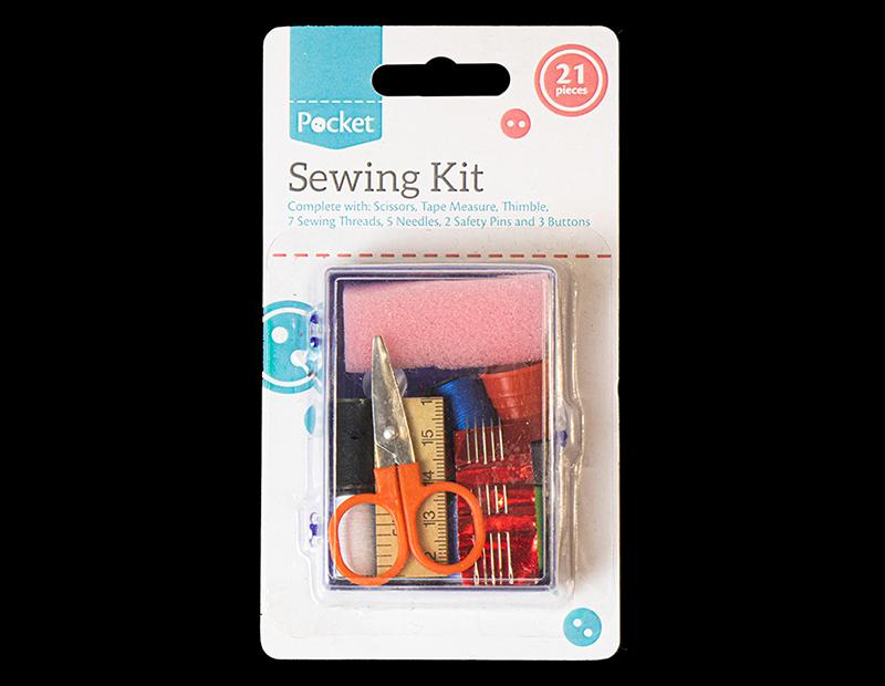 Sewing Kit - 21 Piece