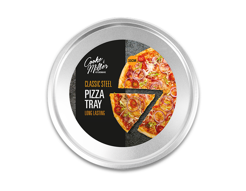 Classic Steel Pizza Tray