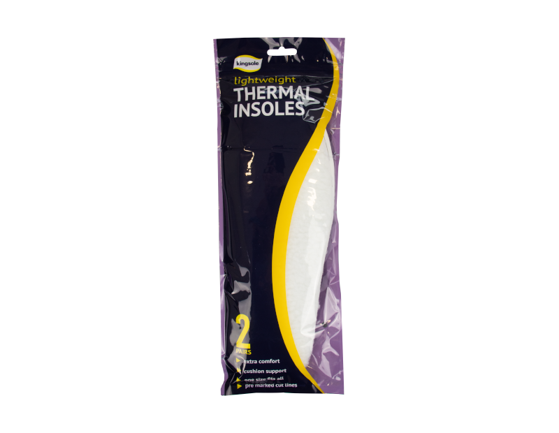 Thermal Insoles - 2 Pairs