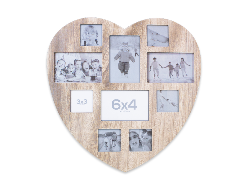 14efa15d77ba Wholesale Shabby Chic Heart Photo Collage Frames | Gem Imports Ltd