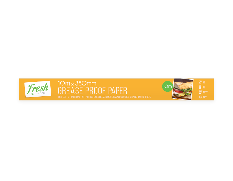 Greaseproof Paper 10m x 380mm