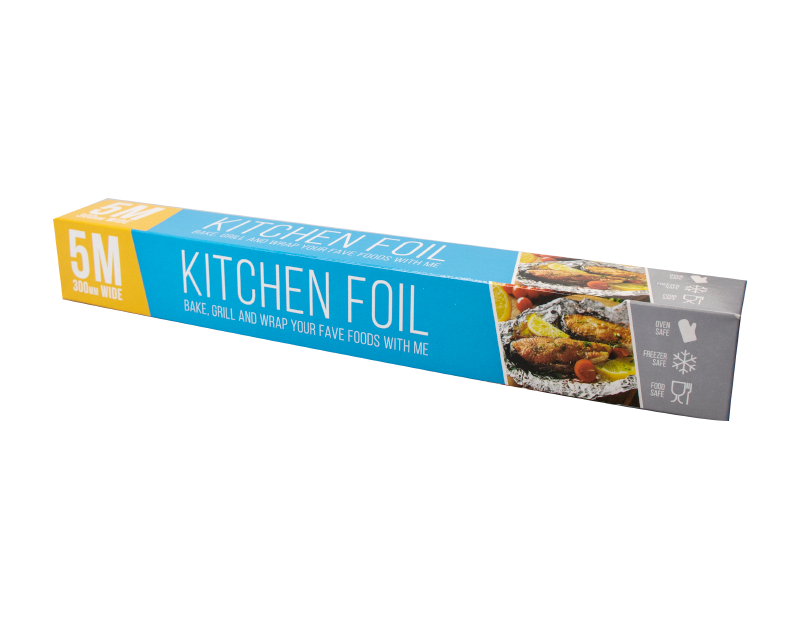 Aluminium Kitchen Foil 5m x 300mm