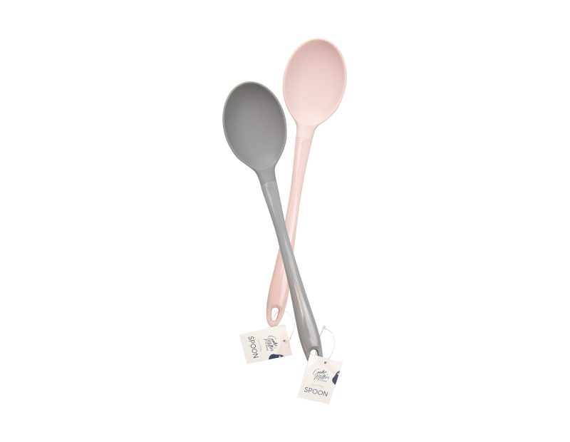 Silicone Solid Spoon - Trend