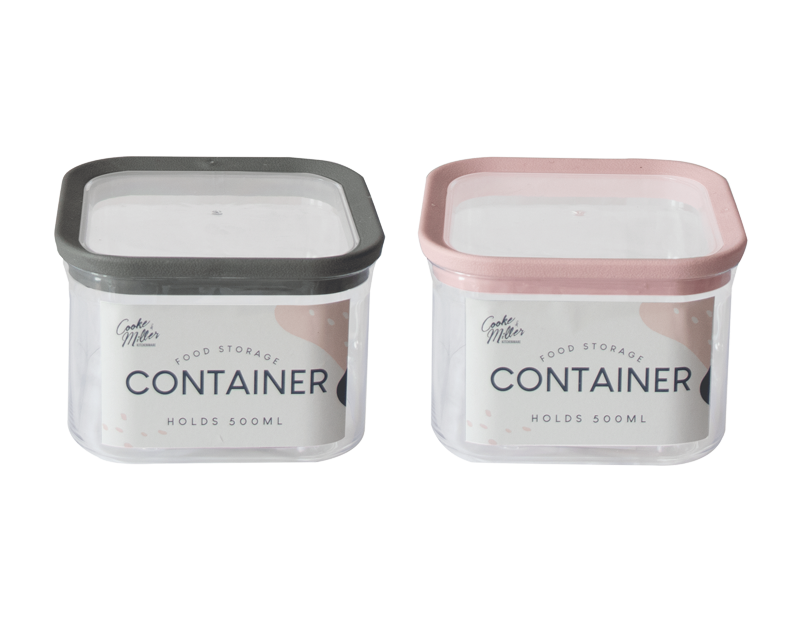 PS Storage Container 500ml - Trend