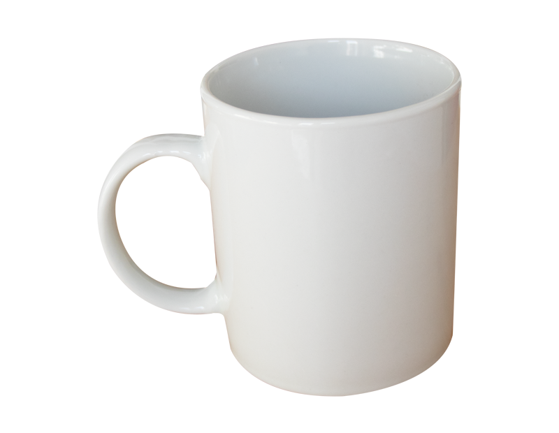 Straight Mug White 330ML