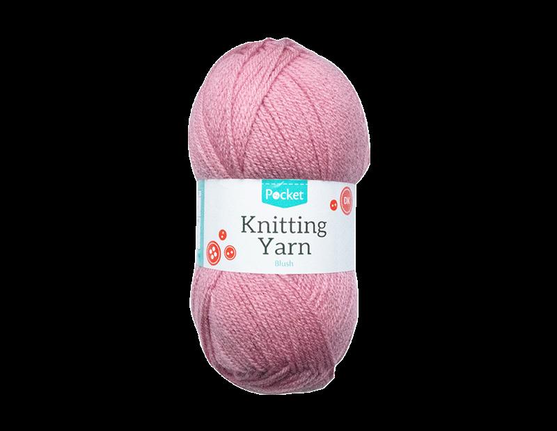Blush Acrylic Knitting Yarn 100g