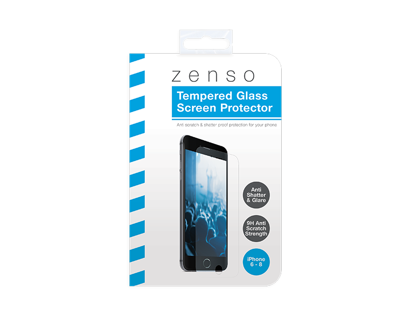 iPhone Tempered Glass Screen Protector Kit - 4 Piece