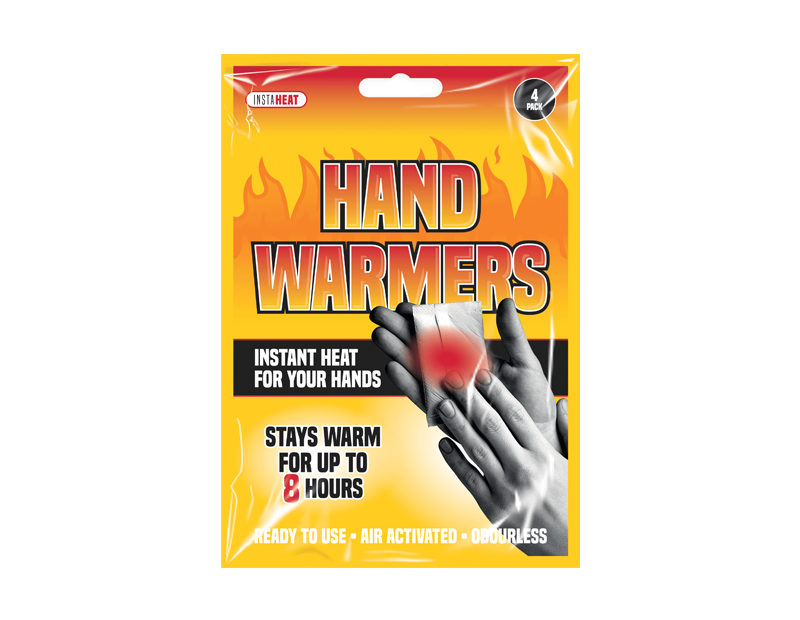 Hand Warmers - 4 Pack