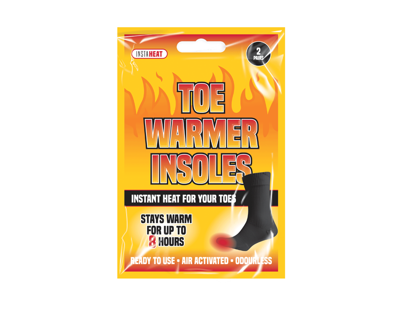 Toe Warmer Insoles - 2 Pack