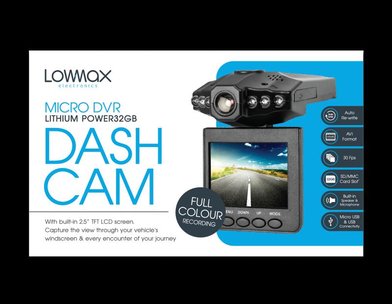 Micro DVR Dash Cam
