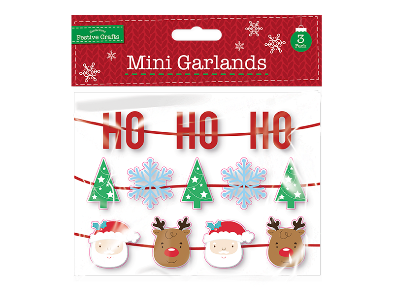 Mini Garlands 3 Pack