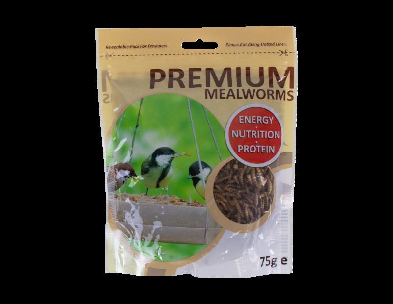 Premium Mealworms 75g