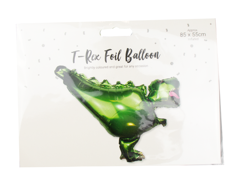 T-Rex Foil Balloon