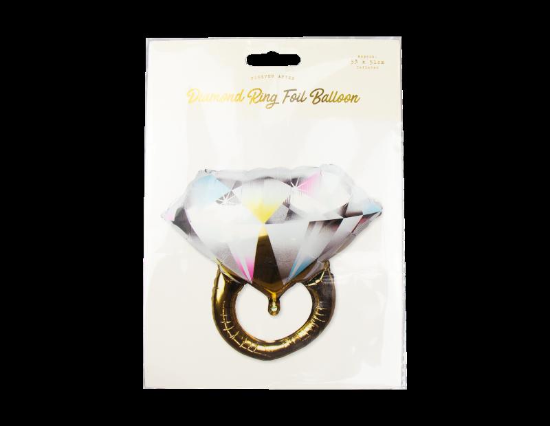 Diamond Ring Foil Balloon