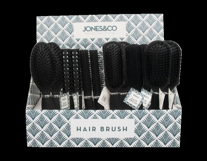 Black Hair Brush With PDQ
