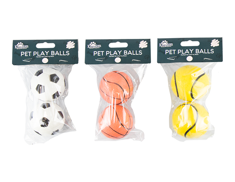 Pet Play Balls - 2 Pack