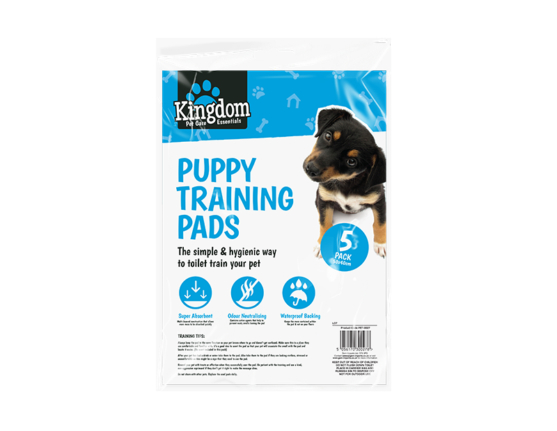 Puppy Training Pads - 5 Pack