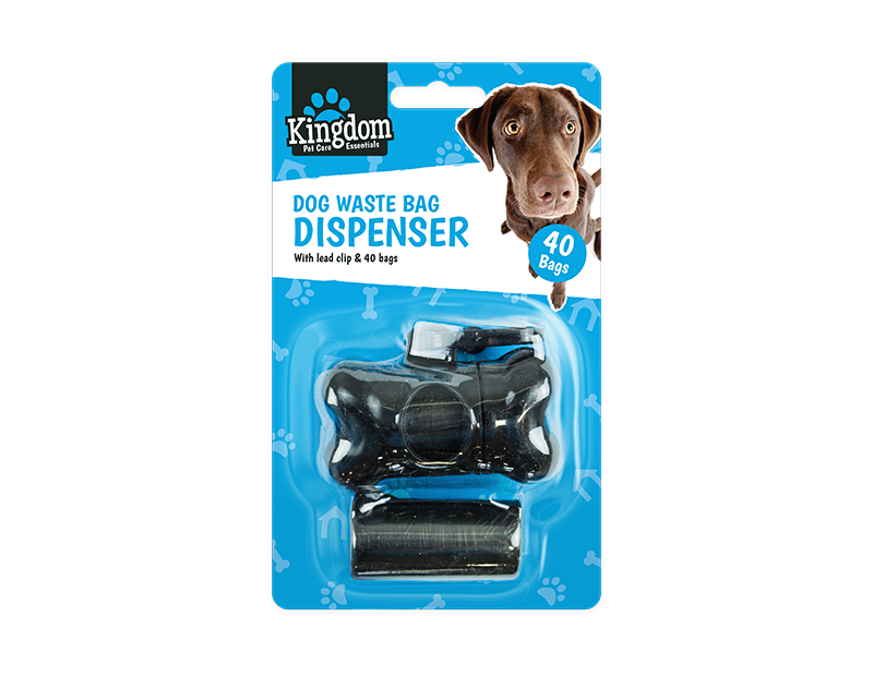 Dog Poo Bag Dispenser - 40 Bags