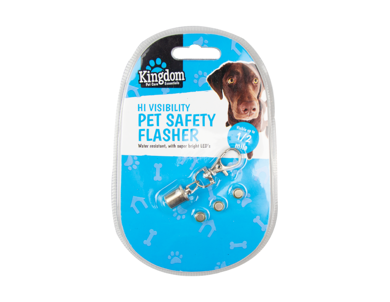 Hi-visibility Pet Safety Flasher