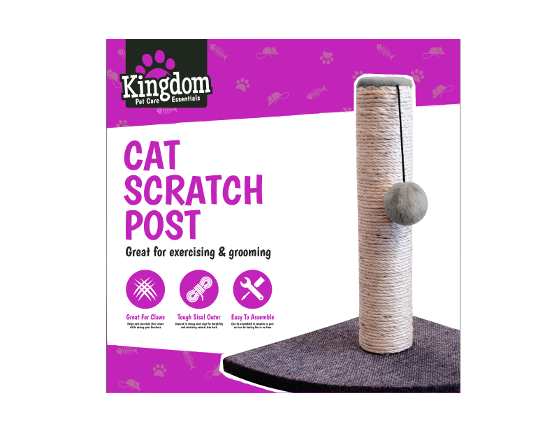 Cat Corner Scratching Post