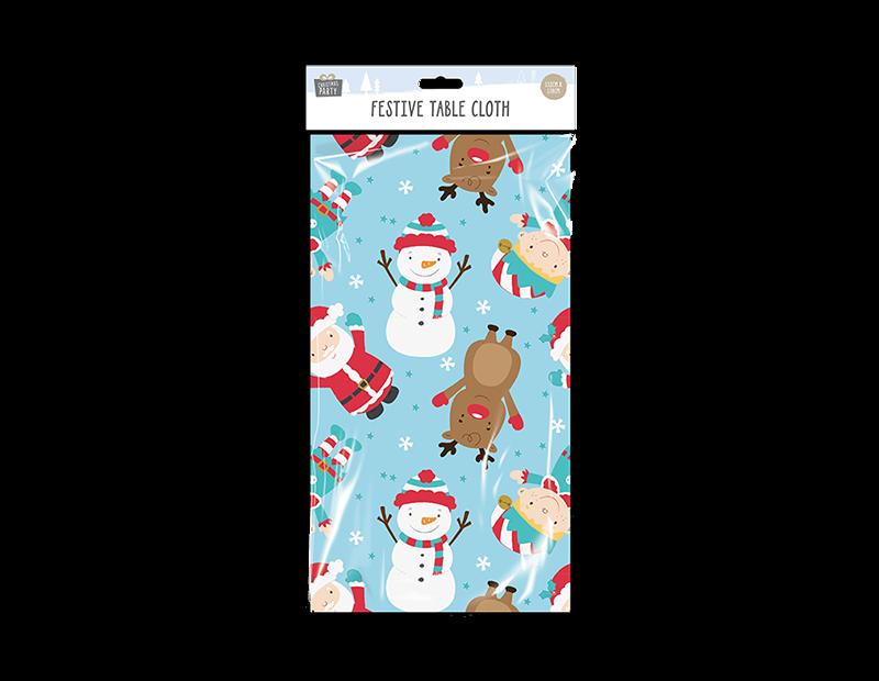 Printed Christmas Table Cover