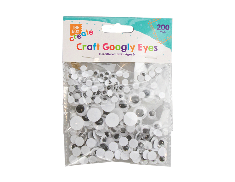 Craft Googly Eyes - 200 Pack