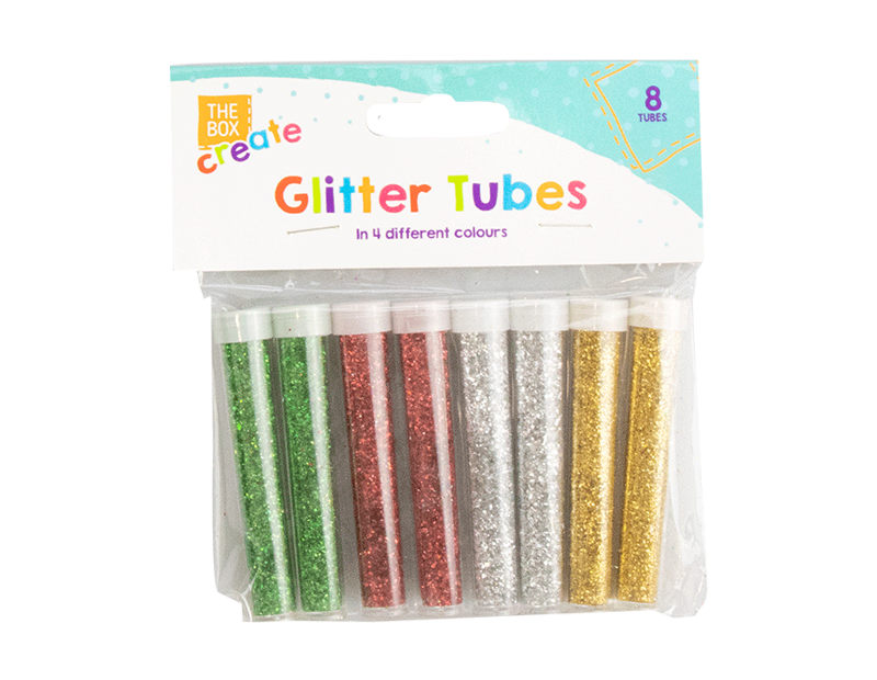 Glitter Tubes - 8 Pack