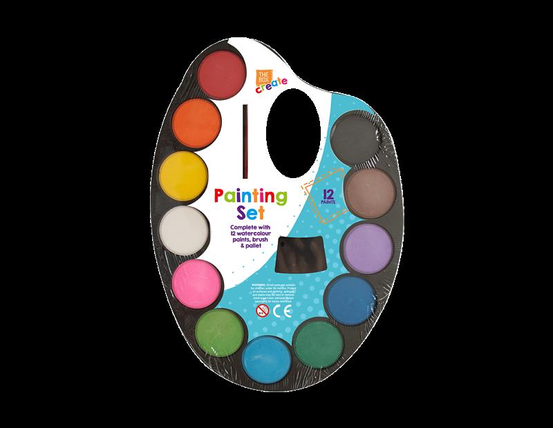 Childrens Painting Set - 14 Piece