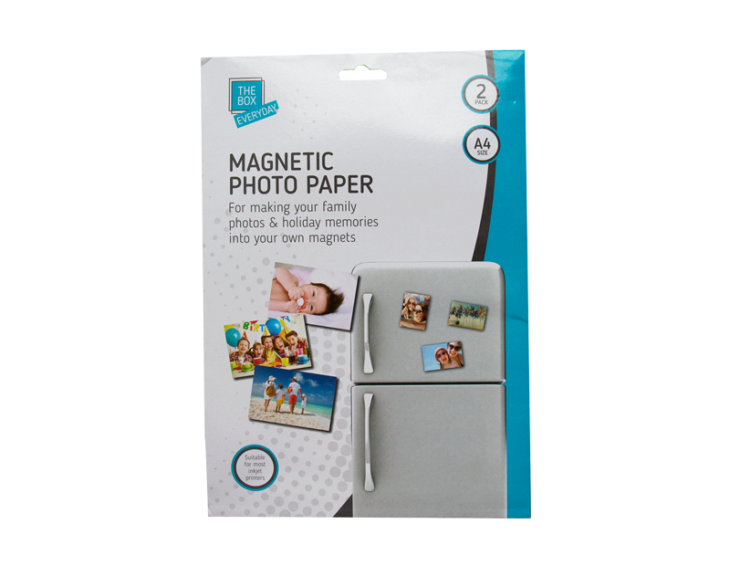 Magnetic Photo Paper - 2 Pack