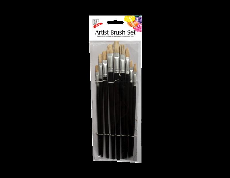 Artist Brushes - 9 Pack