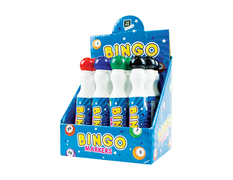 Lucky Bingo Markers With PDQ