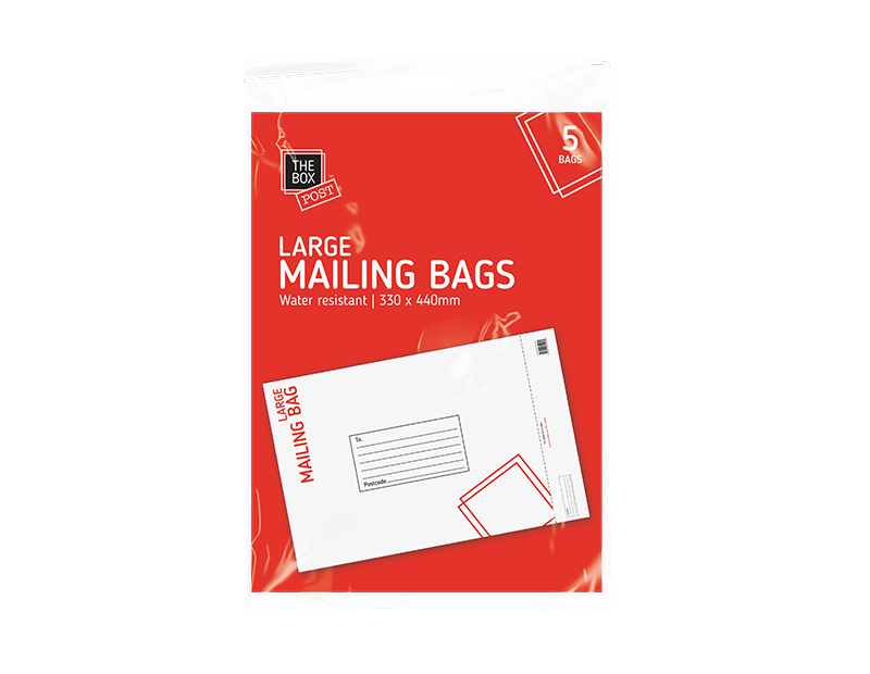 Large Mailing Bags - 5 Pack