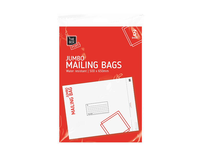 Jumbo Mailing Bags - 3 Pack
