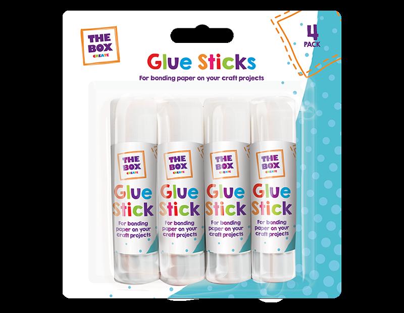 Glue Sticks 15g - 4 Pack