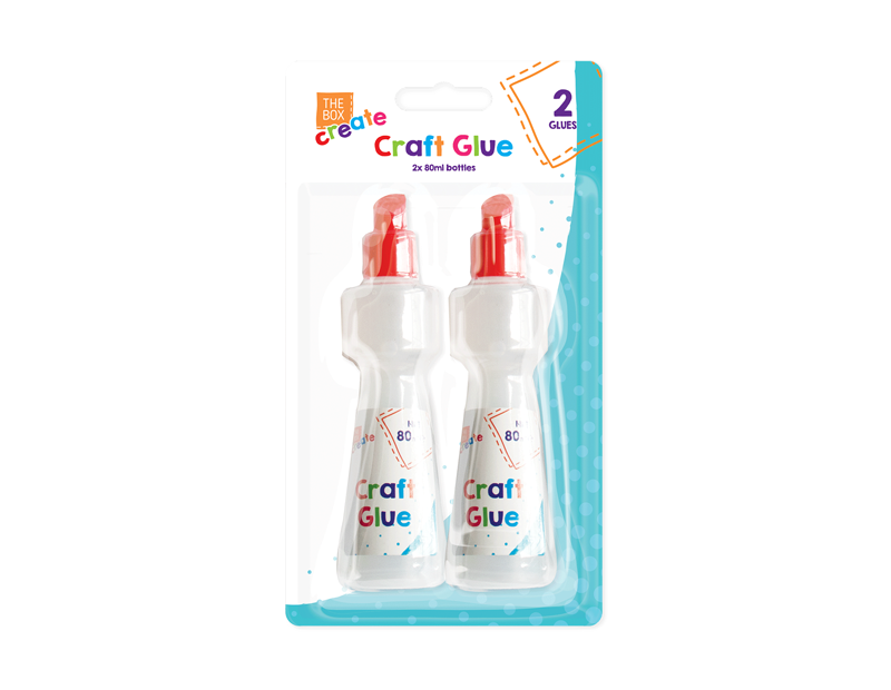 Craft Glue 80ml - 2 Pack