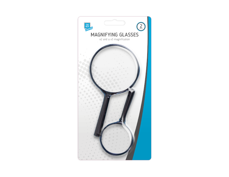 Magnifying Glasses - 2 Pack