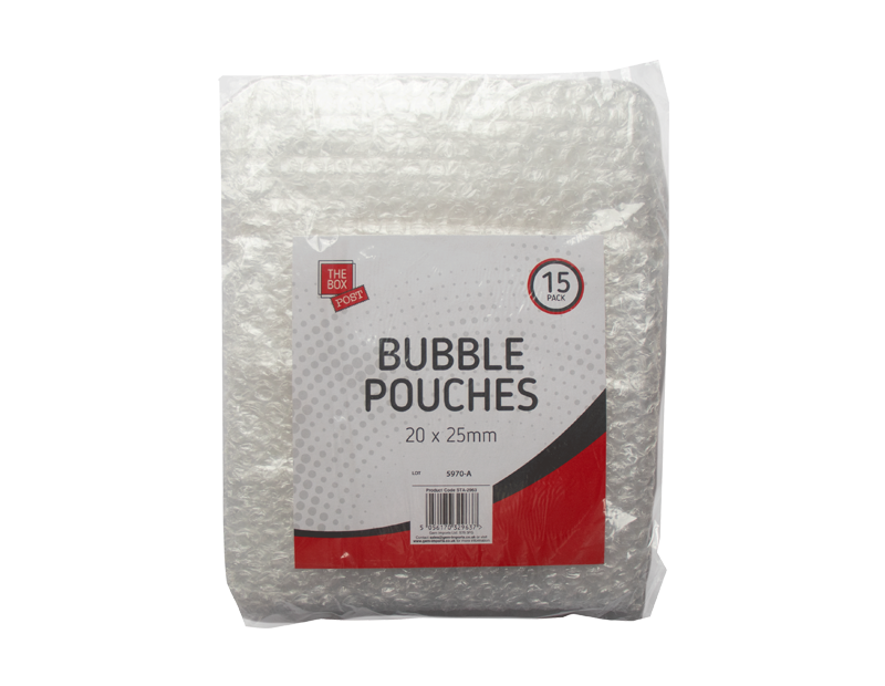 Bubble Pouches - 15 Pack