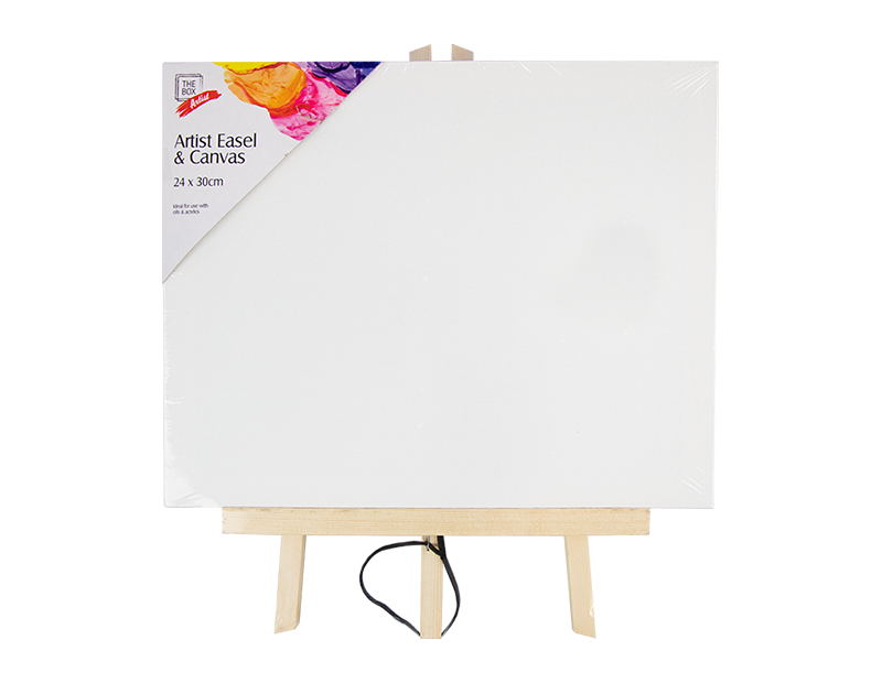 Artist Easel with Canvas