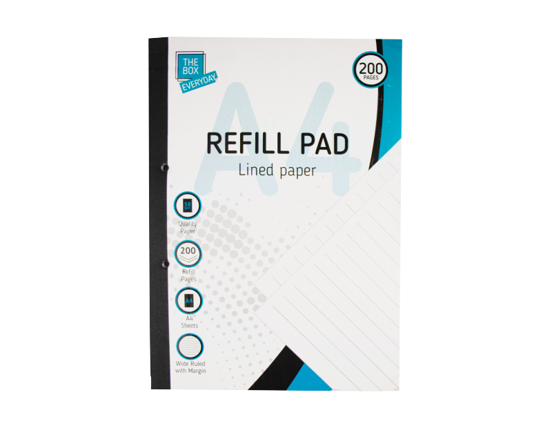 A4 Refill Pad - 200 Pages