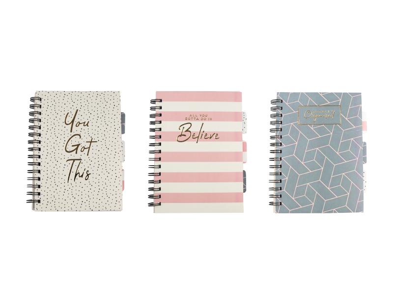 A5 Printed Project Notebook With PDQ