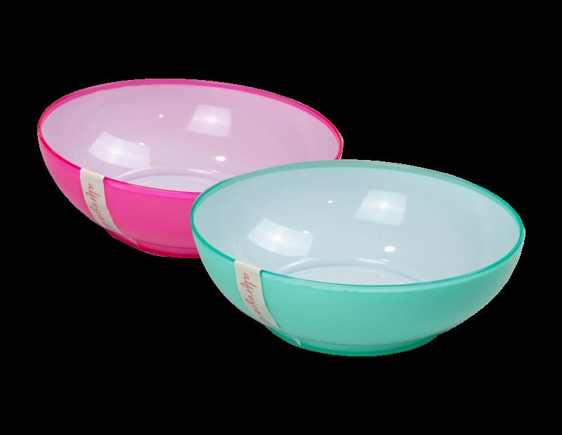 Two Tone Picnic Bowls
