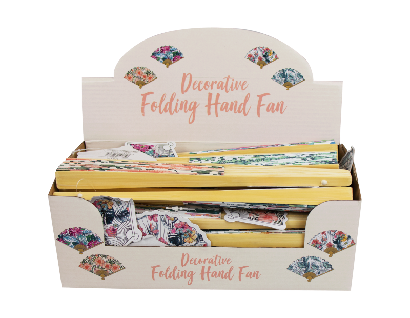 Decorative Hand Fan With PDQ