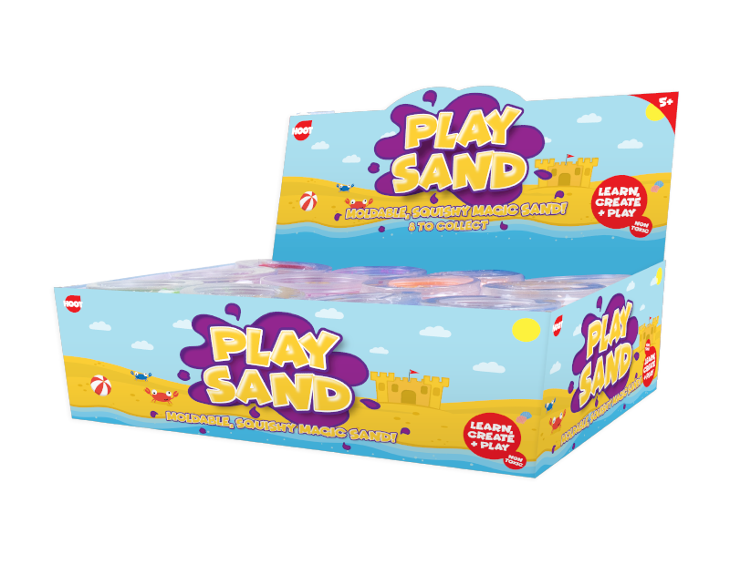 Mouldable Play Sand 150g With PDQ