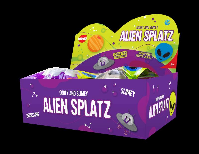 Alien Splat Ball With PDQ