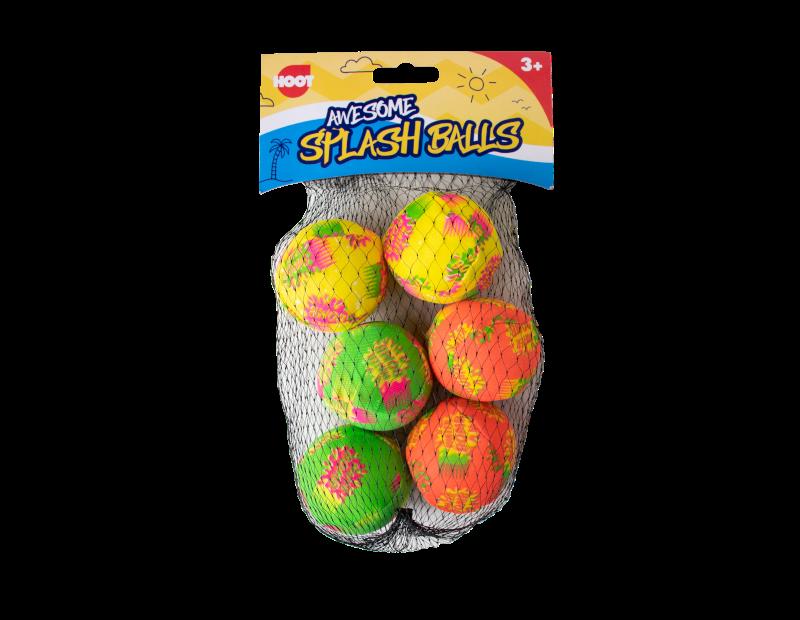 Splash Balls - 6 Pack