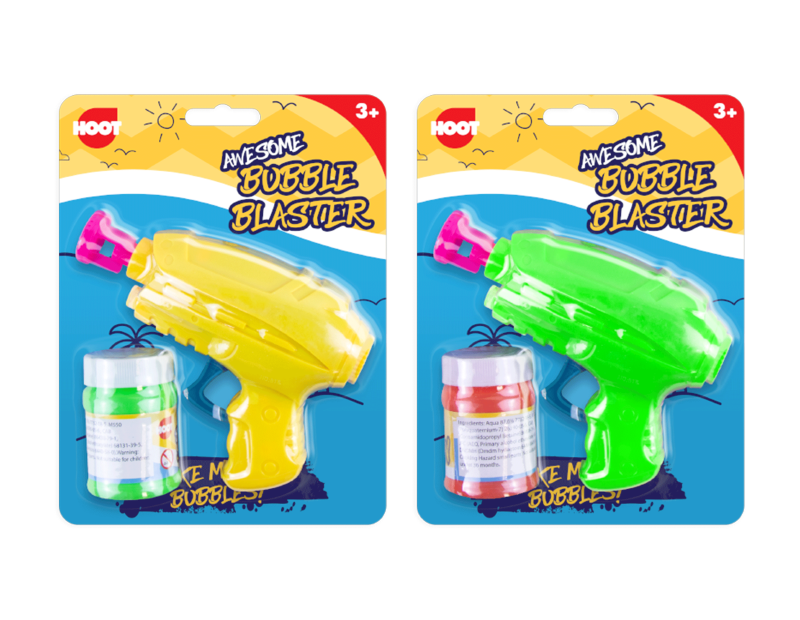 Friction Bubble Gun
