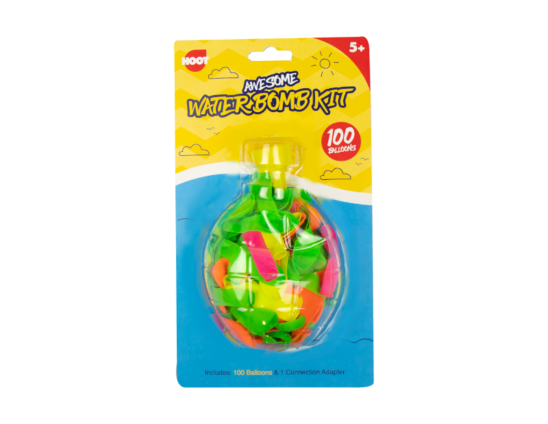 Water Bombs Kit - 100 Pack