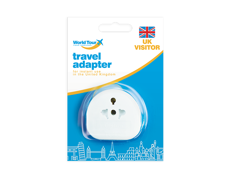 Travel Adapter UK Visitor