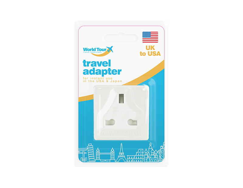 Travel Adapter UK to USA
