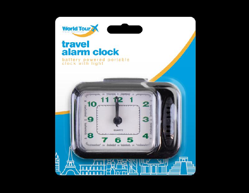 Travel Alarm Clock With Light
